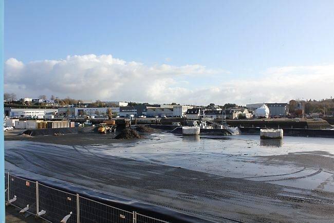 Concarneau : Le dragage du port a commencé hier